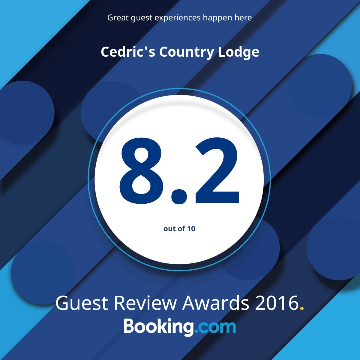 Guest Review Award booking